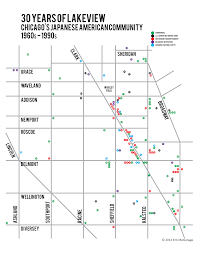 Chicago Heights Map by 30 Years Of Lakeview Chicago U0027s Japanese American Community 1960s