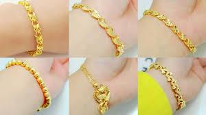 girls bracelet gold images Unique beautiful gold bracelet designs for girls jpg