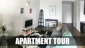 apartment downtown loft tour home decor haul youtube