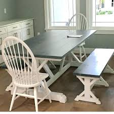farmhouse table with bench and chairs farmhouse table and bench farm kitchen table kitchen tables and