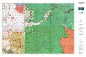 Washington State Topographic Map by Wa Gmu 516 Packwood Map Mytopo