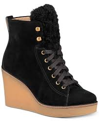 ugg boots sale at macy s ugg kiernan wedge lace up booties boots shoes macy s