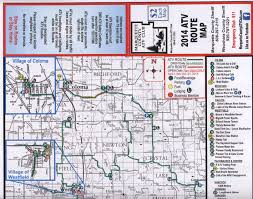 Map Of Wisconsin State Parks by Wisconsin Atv Trail Maps