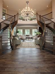 Front Staircase Design Twin Staircases In The Front Foyer See My New Home Design