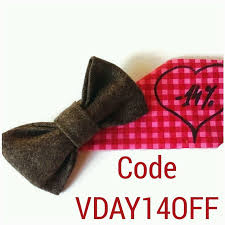 valentines gifts for men valentines day gift mens bow tie brown wool bow tie husband gift