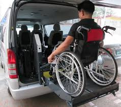 philippines pedicab lifelifters wheelchair van a painless way to travel when in manila