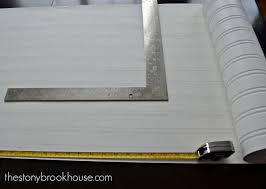 Installing Beadboard Wallpaper - installing beadboard wallpaper the stonybrook house