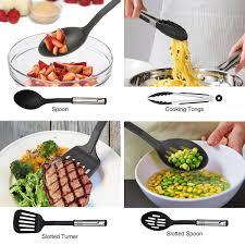 amazon com nexgadget 38 piece premium cooking utensils stainless