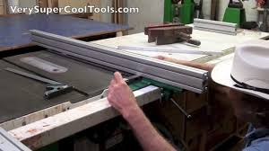 central machinery table saw fence sears align a rip vs exact i rip vs true rip fences
