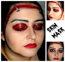 makeup mask but in superhero themes awesome idea nerd beauty
