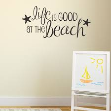 life is good at wall quotes decal wallquotes com