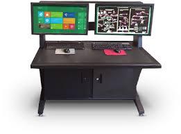 Control Room Desk Agileview Control Room Consoles Imagevision Inc