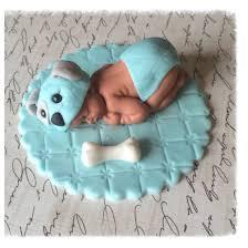 Baby Decorations Puppy Baby Shower Cake Puppy Dog Topper Baby Boy Puppy Nursery