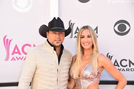 brittany kerr at 2017 academy of country music awards in las vegas