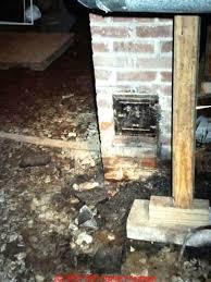 fireplace cleanout doors cast iron