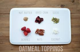 Oatmeal Toppings Bar Slow Cooker Steel Cut Oats Fit Foodie Finds