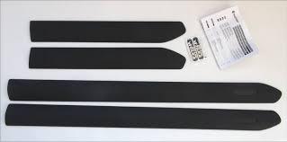 autohaus fürst onlineshop side body moulding trim set in black
