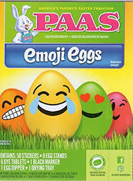 Easter Egg Decorate Games by Amazon Com Paas Emoji Eggs Easter Egg Decorating Kit Toys U0026 Games