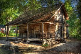 log house 1870 rufus smith log house thomas county historical society