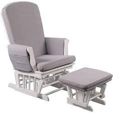 fauteuil chambre bébé allaitement fauteuil d allaitement tissu blanc gris de quax fauteuils et