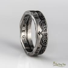 beautiful u0026 unique handcrafted coin rings by theringtree on etsy