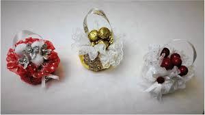 beautiful christmas tree tied bag decorations easy to make