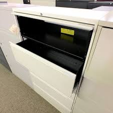 Used 5 Drawer Lateral File Cabinet Used 5 Drawer Lateral File Cabinet Putty No File Bars Fil1471