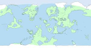 Blank Fantasy World Map by Fantasy And Alien Blank Basemaps Thread Page 6 Alternate