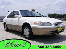 1999 super white toyota camry le 13613835 gtcarlot com car
