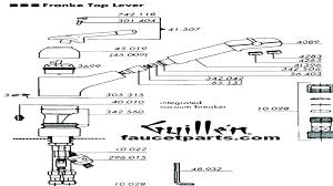 kohler kitchen faucet parts parts for kohler kitchen faucets michaelresin site