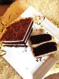 the best chocolate cake with vanilla cream ferrero rocher style