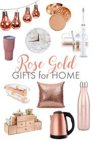 jump on the rose gold trend with these gifts for her or gifts for