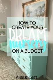 how to create your dream nursery on a budget ruffled blues