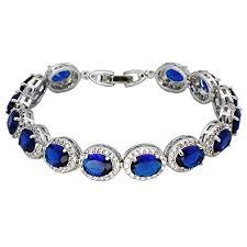 emerald bracelet images Oval ladies tennis bracelet sapphire ruby emerald jpg