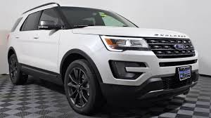 Ford Explorer Bucket Seats - 2017 ford explorer xlt sport appearance package 4x4 suv at eau