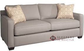 customize and personalize parker queen fabric sofa by fairmont