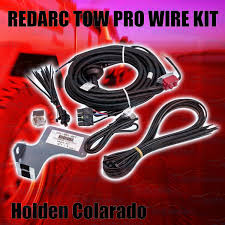 redarc towpro elite ebrh accv2 electric brake wiring kit holden