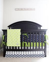 Grey And Green Crib Bedding Crib Bedding Picmia
