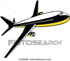aereo clipart archivio illustrazioni jet colosso aereo volo k1469239 cerca