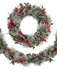 Garland by Cardinal Wreath And Garland Balsam Hill