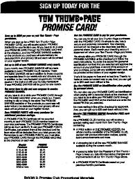 web tom thumb promise card