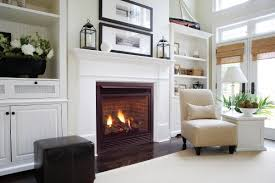 white fireplace mantel shelf mapo house and cafeteria
