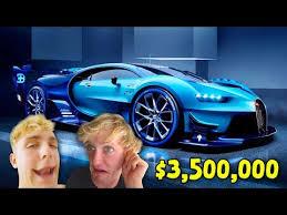 jake paul car top 10 most expensive youtuber supercars logan paul ksi jake paul