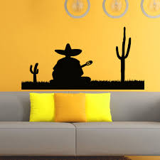 compare prices on wall silhouette decals online shopping buy low wall decals vinyl sticker silhouette mexican man decal home decor mural china mainland