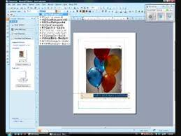 the basics and how to make a birthday greeting card on microsoft