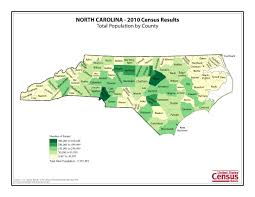 Population Density Map Us Census 2010 News U S Census Bureau Delivers North Carolina U0027s