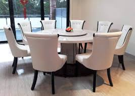 Cream Dining Chairs Unique Design Marble Dining Table For 4 White Leather Dining