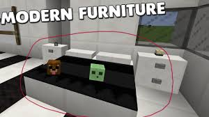 Modern Bed Furniture Minecraft Modern Bedroom Furniture With No Mods How To Make