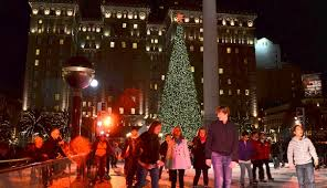 sf christmas tree lighting 2017 union square ice rink ice skating san francisco