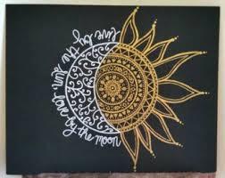 sun and moon mandala drawing clipartxtras